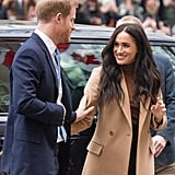 Meghan Markle, Duchess of Sussex at Canada House, London