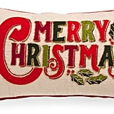 Merry Christmas Pillow ($25)