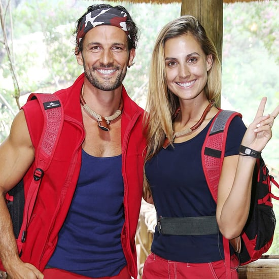 Tim Robards and Laura Dundovic I'm a Celebrity Interviews