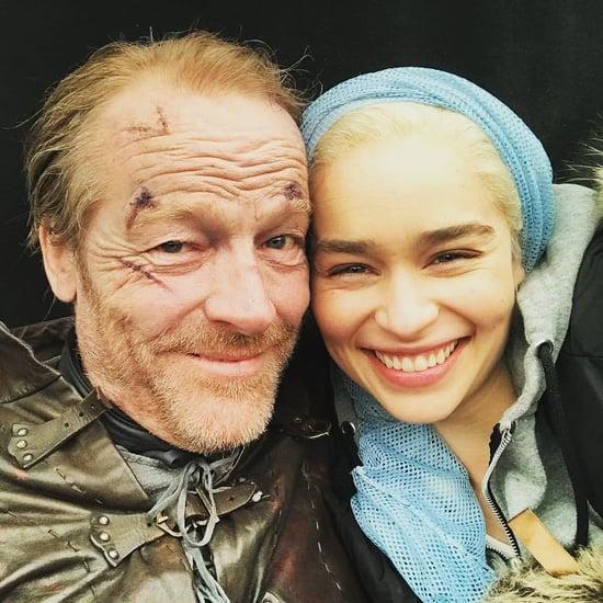 Emilia Clarke's Goodbye to GOT Costar Iain Glen on Instagram