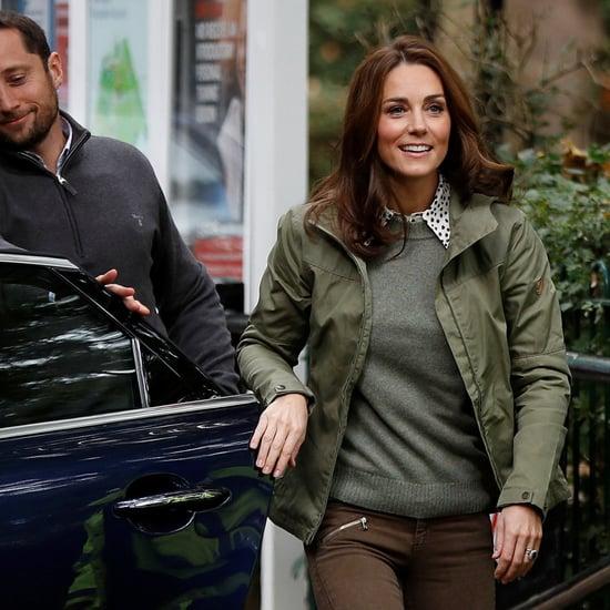 Kate Middleton Closing Her Car Door October 2018