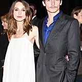 Keira Knightley and Rupert Friend in 2007