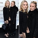 The Olsen twins made an appearance when the CFDA 2013 nominees were announced.