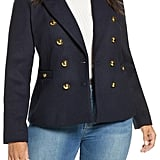 Halogen® x Atlantic-Pacific Double Breasted Blazer