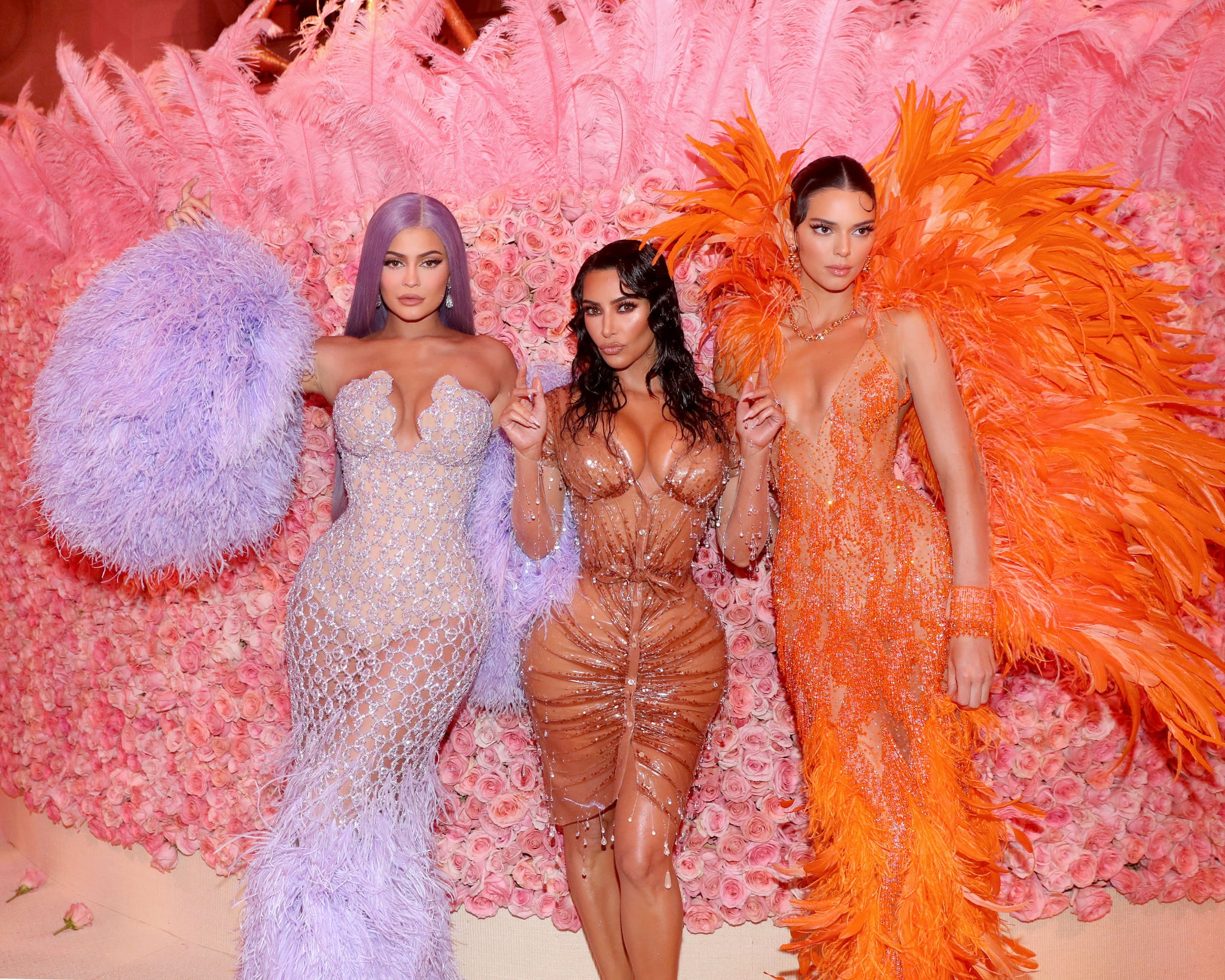 (EXCLUSIVE COVERAGE, SPECIAL RATES APPLY) Kylie Jenner, Kim Kardashian West and Kendall Jenner attend The 2019 Met Gala Celebrating Camp: Notes on Fashion at Metropolitan Museum of Art on May 06, 2019 in New York City. (Photo by Kevin Tachman/MG19/Getty Images for The Met Museum/Vogue)