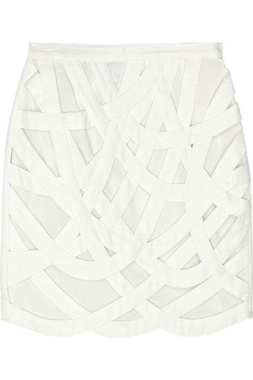 AdamHannah Bandage Appliqué Skirt($465)