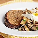 Sautéed Mushrooms With Thyme and Poached Egg