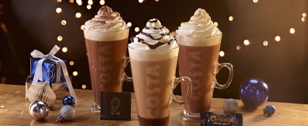 Costa Coffee Releases Terry's Chocolate Orange Hot Chocolate