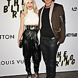 For The Bling Ring's LA premiere, Gwen oozed edgy elegance in a Balmain halter, featuring a peek at her famous abs, slouchy leather trousers, and Giuseppe Zanotti heels. Honorable sartorial mentions to her stylish husband, Gavin Rossdale.