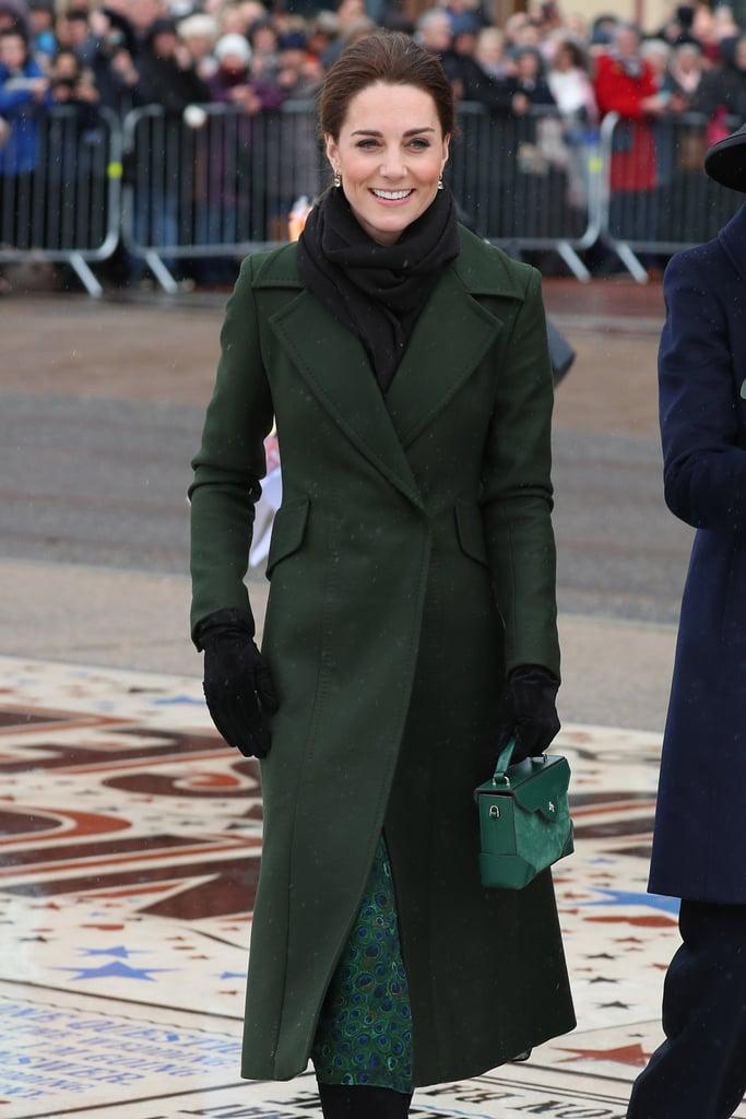 Kate Middleton Tiny Green Bag