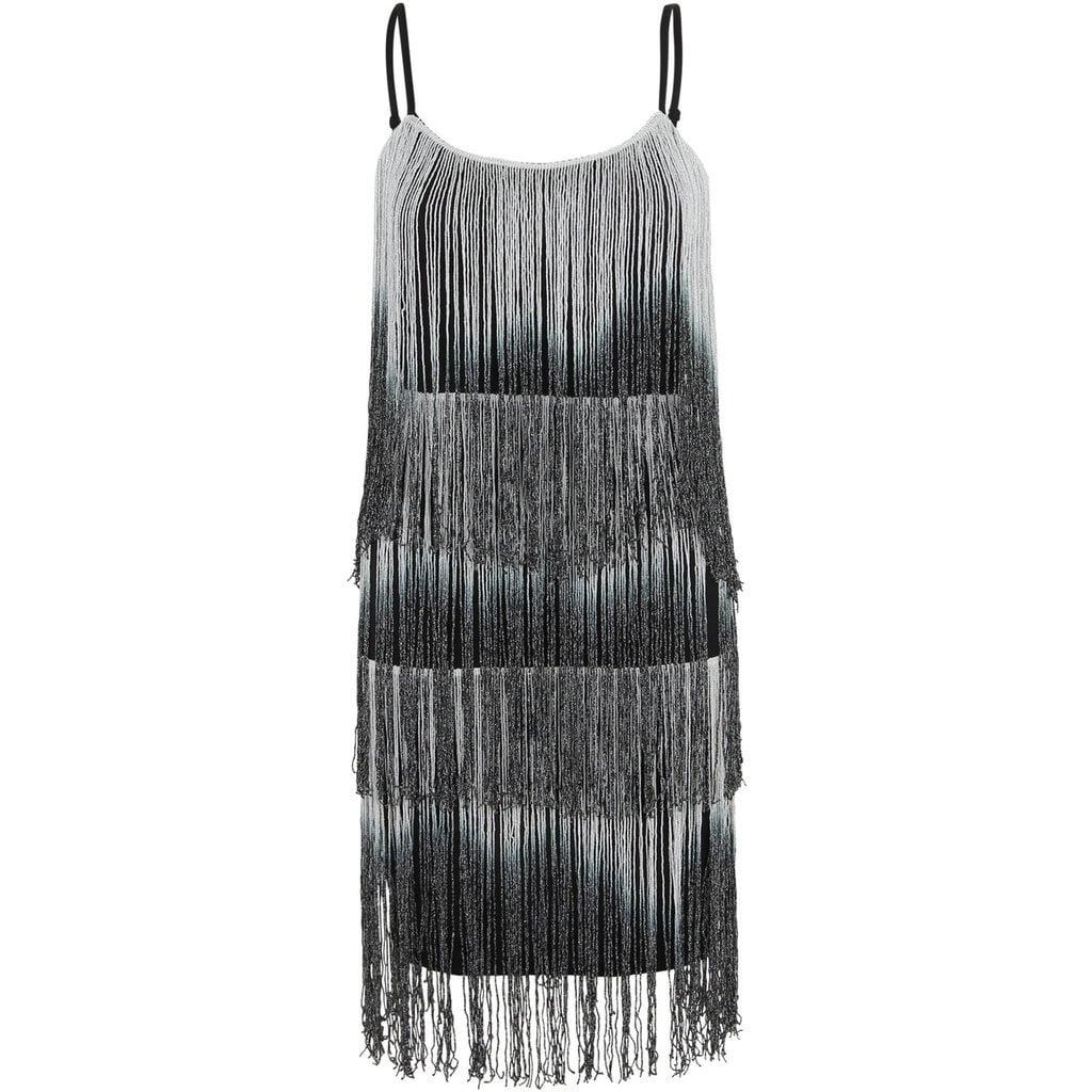 Krisp 1920's Charleston Swing Tiered Bodycon Dress (£30)