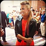 The X Factor shared a photo of Demi Lovato on her birthday. Source: Instagram user thexfactorusa