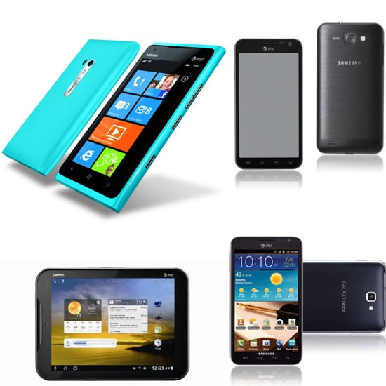 AT&T Android and Windows Phones at CES 2012