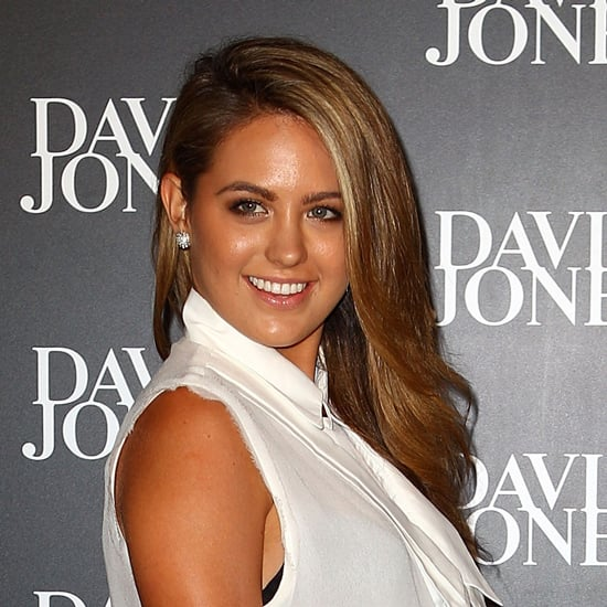 Well. Jesinta sported what is basically the perfect blow-dry in February 2013.