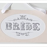 Vintage Bride and Groom Signs