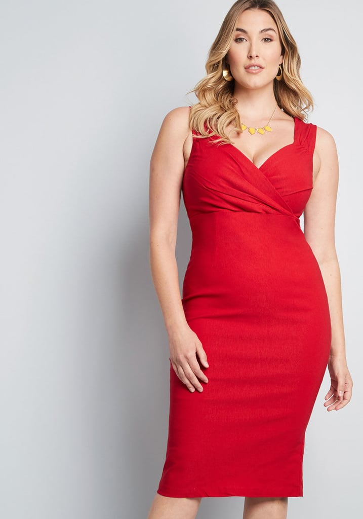 Lady Love Song Sheath Dress | Flattering Plus-Size Dresses ...