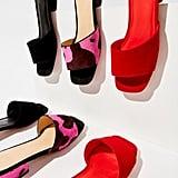 UO Maria Suede Mule Sandals