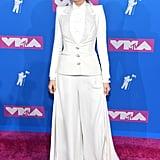Blake Lively's White Suit at MTV VMAs 2018