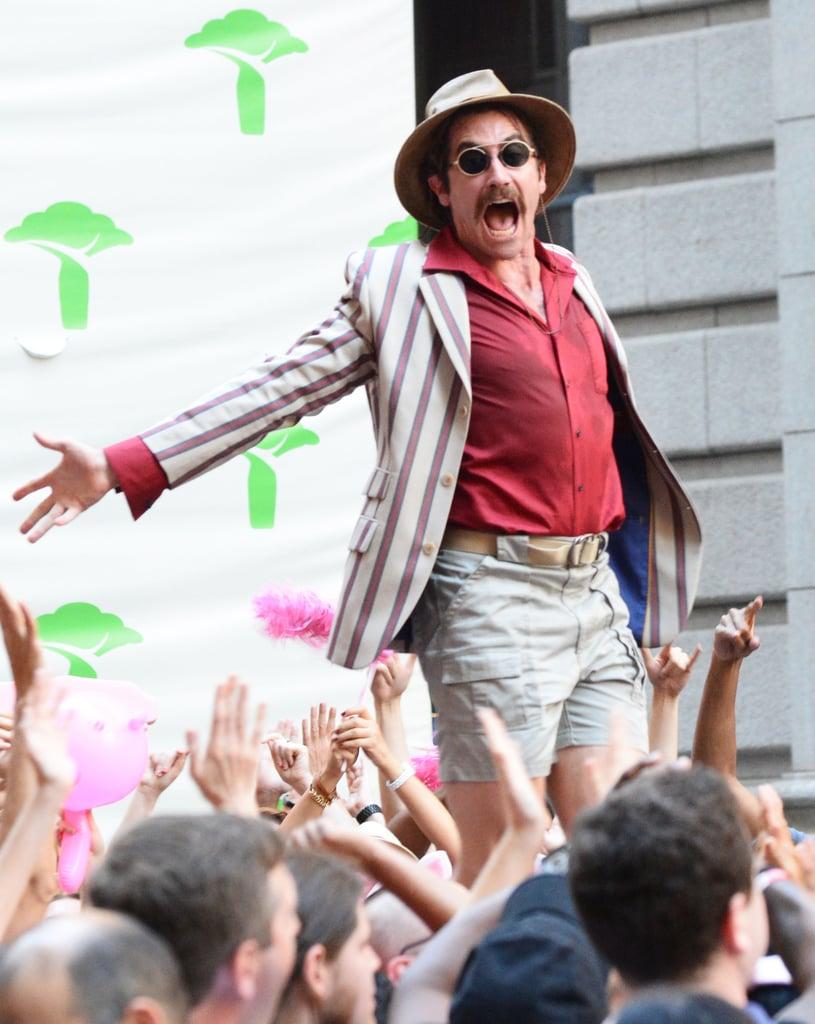Jake Gyllenhaal Filming Okja Set Pictures July 2016