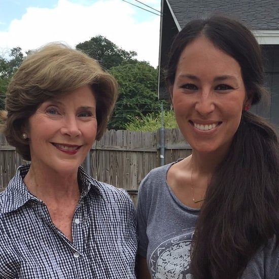 Laura Bush on Fixer Upper