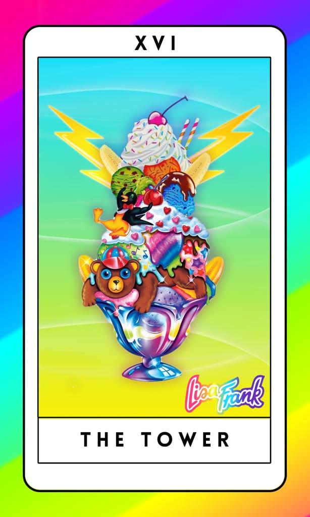 The Tower   Lisa Frank Tarot Cards   POPSUGAR Love & Sex Photo 18