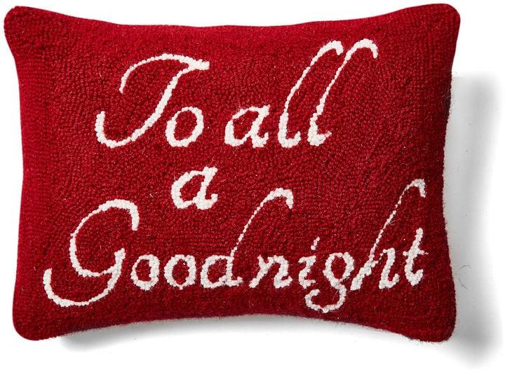 Goodnight Wool Pillow ($35, originally $39)