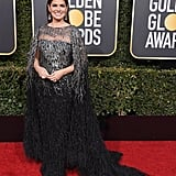 Debra Messing at the 2019 Golden Globes