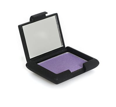 If you don't need all the coordinating shades that come in a palette, invest in one good midtone purple. Nouba's imaginatively named Purple Single Eyeshadow (£20) is a great option with lots of pigment. You can darken it by wetting your brush or mixing it with a little black shadow to get more looks from one product.