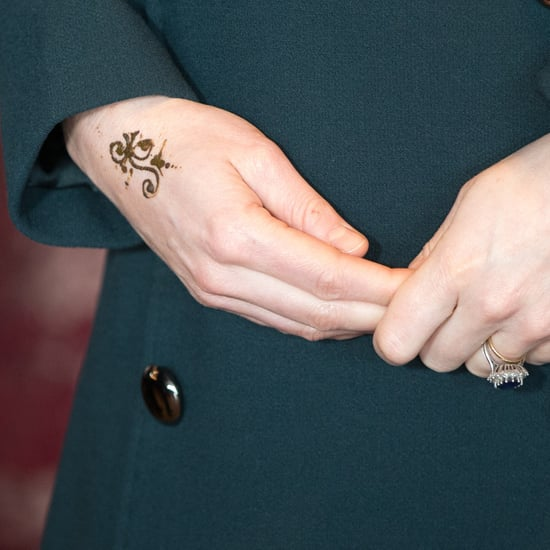 The Duchess of Cambridge Gets a Henna Tattoo