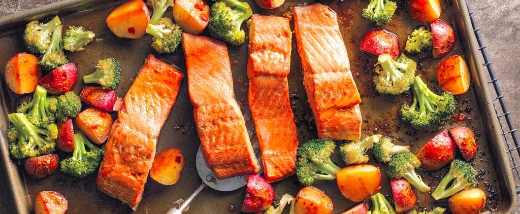 Asian Salmon Sheet-Pan Dinner Recipe