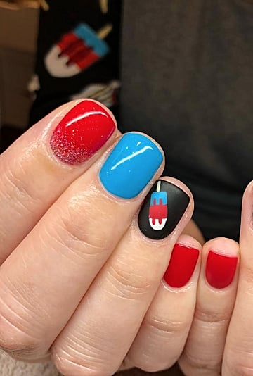 July 4 Nail Art Ideas For 2020
