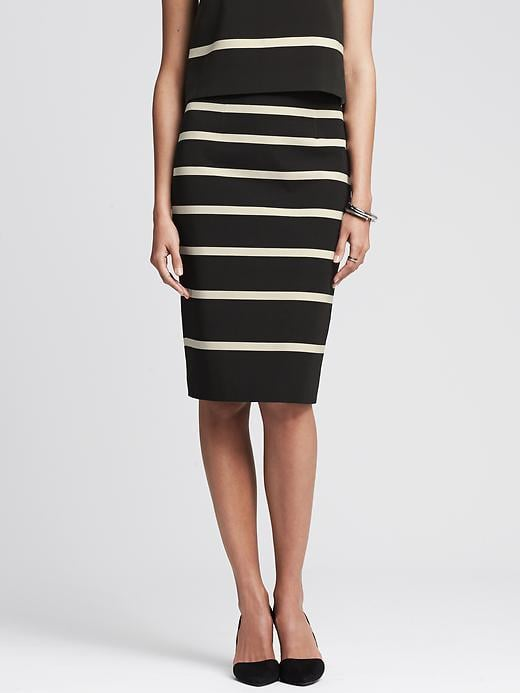 Banana Republic Pencil Skirt Spring Shopping Guide