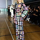 Paloma Faith at the Ashish London Fashion Week Show