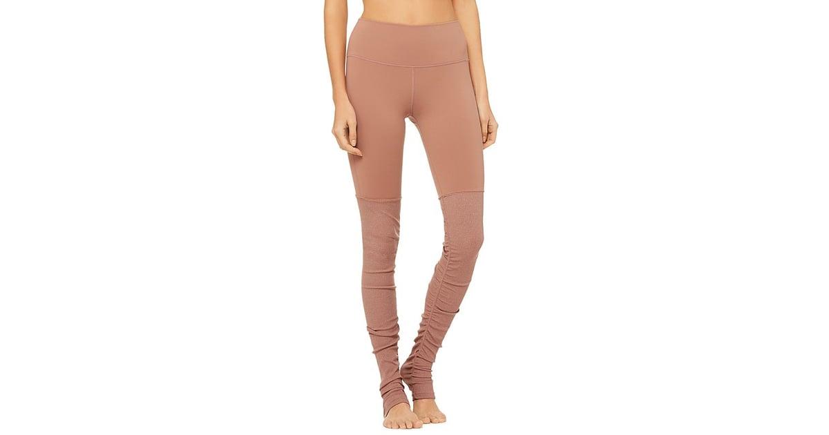 de6539abe519a Alo Yoga High-Waist Goddess Leggings | Best Yoga Pants For Tall Women |  POPSUGAR Fitness Photo 2