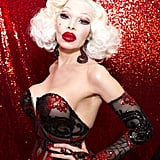 Amanda Lepore emulated Jessica Rabbit at DragCon.