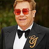 Pictured: Elton John at The Lion King premiere in London.