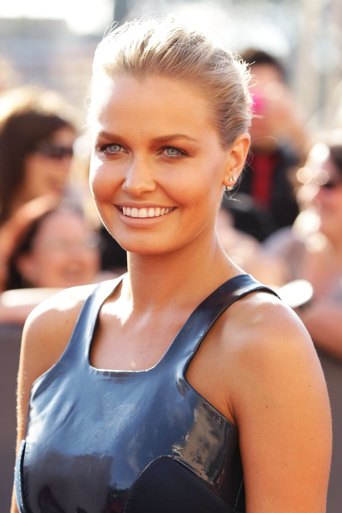 Lara Bingle in minimal Josh Goot.