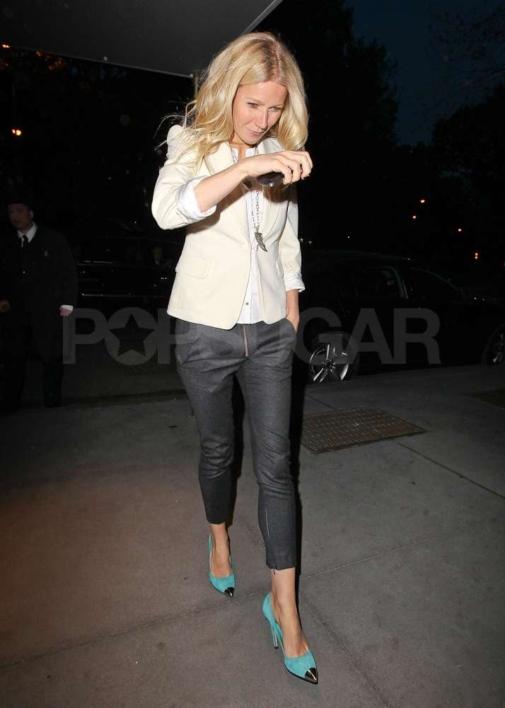 Gwyneth Paltrow out and about in NYC.