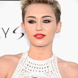 Miley Cyrus With a Pixie Cut
