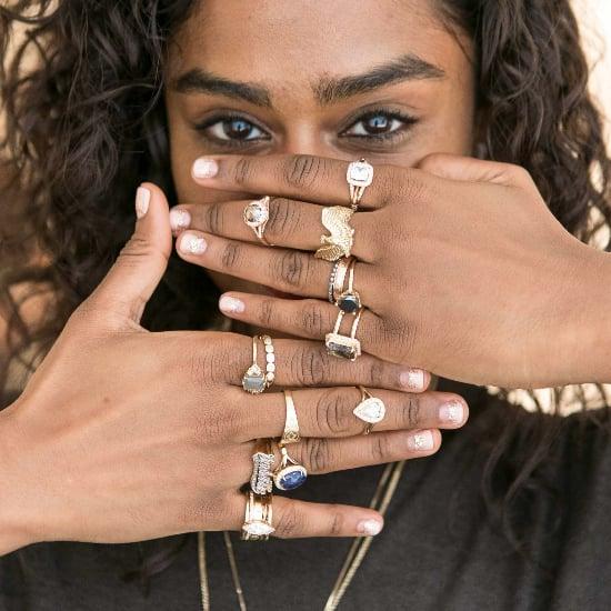 Indie Wedding Nail Art Ideas
