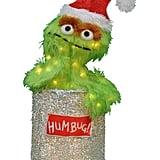 Sesame Street Oscar the Grouch Christmas Decoration