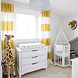 """Before I had Leo, I wanted his nursery to be white, gray, and neutral — including his toys. Now that I'm watching him grow and develop, I understand the importance of decorating with color. That's why I wanted to add pops of brightness to the Vancouver nursery for him, and I absolutely love the way it turned out!"" Jillian explains."