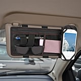 GPCT Car Space Sun Visor Storage Organizer