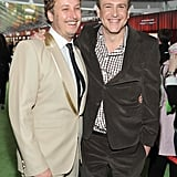 Jason Segel posed with director James Bobin.