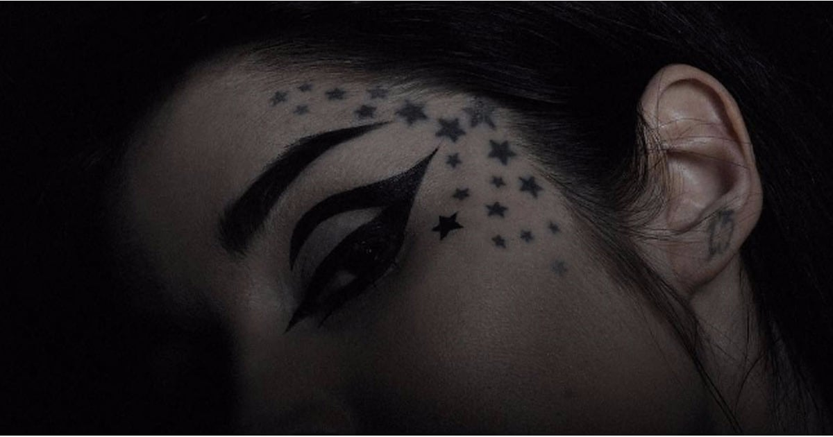 Kat von d matte black tattoo liner popsugar beauty for Black kat tattoo