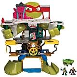 Teenage Mutant Ninja Turtles Half Shell Heroes Headquarters Playset