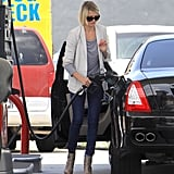Cameron Diaz made a pit stop in LA.