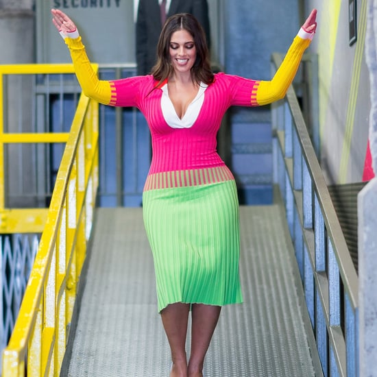 Ashley Graham Prabal Gurung Sweater Dress October 2018
