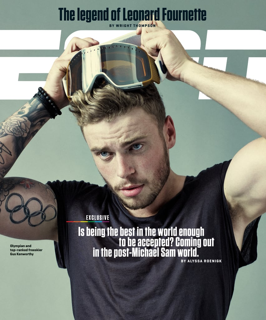 Olympic Skier and Puppy-Lover Gus Kenworthy Comes Out on the Cover of ESPN