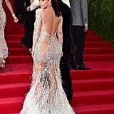 Kim Kardashian at the 2015 Met Gala